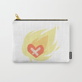 Burning wounded heart Carry-All Pouch