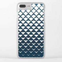 Diamond Fold Clear iPhone Case
