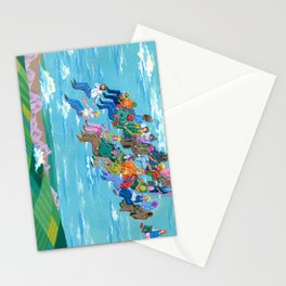 Plane Without Plane Stationery Cards