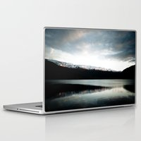 norway Laptop & iPad Skins featuring Voss, Norway by anthonyyyg