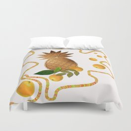 Cool fruits Duvet Cover