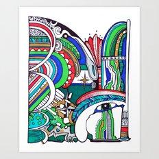 Omen Art Print