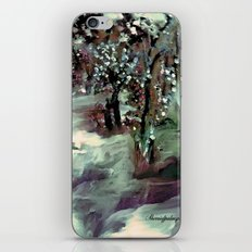 THE FLOODED VALLEY iPhone & iPod Skin