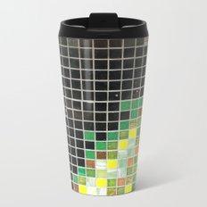 tile wall Metal Travel Mug