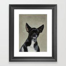 Jet the Dog Framed Art Print