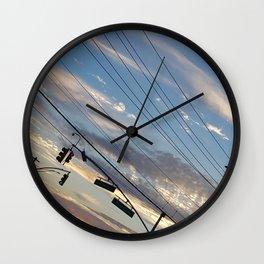 sky_1 Wall Clock
