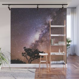Milky Way Stars South Western Tree Wall Mural