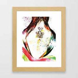 Hidden Effort Framed Art Print