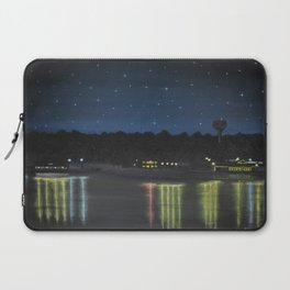 Starry Sky Over Ross Barnett Laptop Sleeve