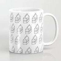 milk Mugs featuring milk by sharon