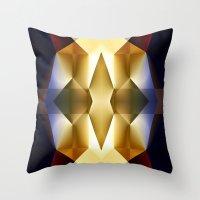 pear Throw Pillows featuring Pear by Cs025