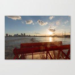 Steamboat o Canvas Print
