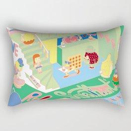 Sweet Heart World Rectangular Pillow