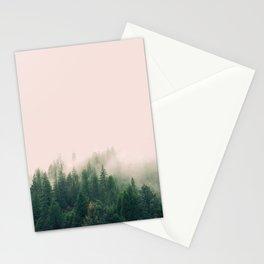 Pink Fog Stationery Cards