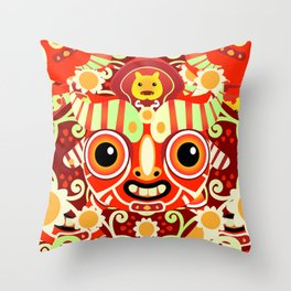 Ño - Patroncitos Throw Pillow