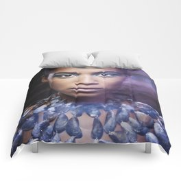 Drawn Imagery Comforters