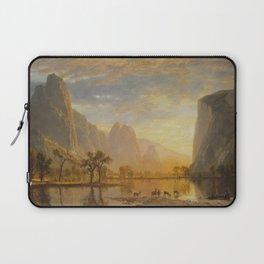 Albert Bierstadt - Valley of the Yosemite (1864) Laptop Sleeve