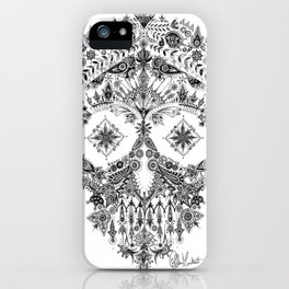 Day Of The Dead Skull iPhone Case