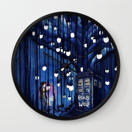 Doctor Who Journey Wall Clock