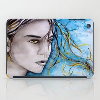 ale giorgini iPad Cases featuring Ale by Alux Medina
