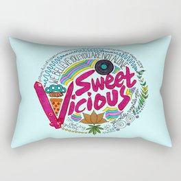 Sweet/Vicious Rectangular Pillow
