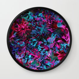 Summer Tropics Wall Clock