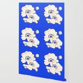 Ultramarine Blue :: Anemones Wallpaper
