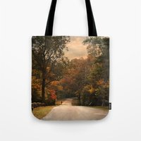 cycling Tote Bags featuring Cycling Season by Jai Johnson
