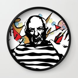 Picasso vector Wall Clock