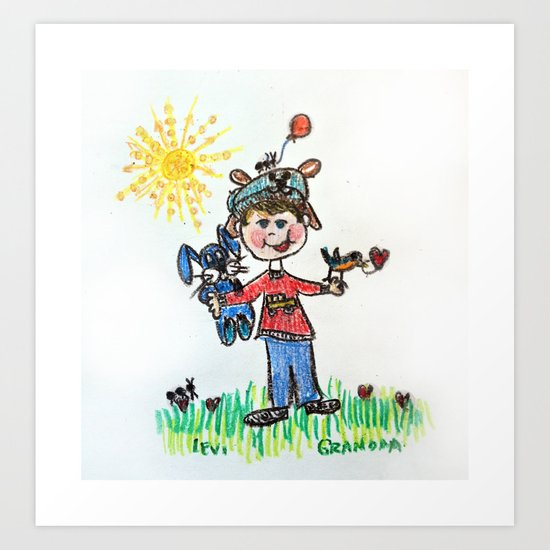 :: You Are My Sunshine :: Art Print