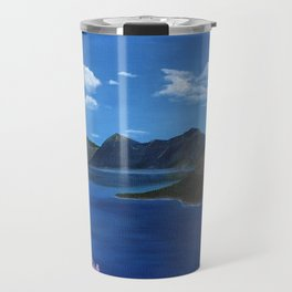 Spring at Crater Lake Travel Mug