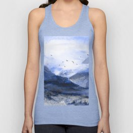 Blue Mountain Unisex Tanktop