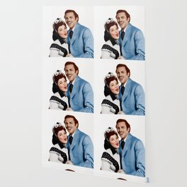 Kathryn Grayson and Howard Keel Wallpaper