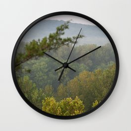 Castlewood Trees Wall Clock