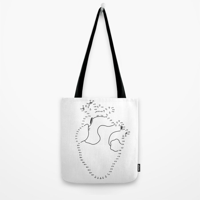 Love is a combination of points Tote Bag