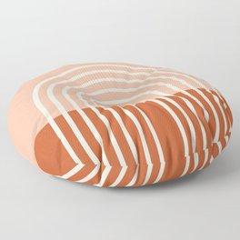 Terracota Pastel Floor Pillow