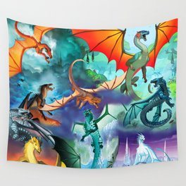 Wings Of Fire Character Wall Tapestry