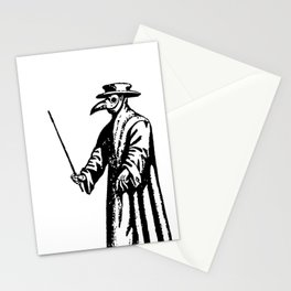 The Black Death Stationery Cards