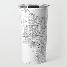 Minimal City Maps - Map Of Boulder, Colorado, United States Travel Mug