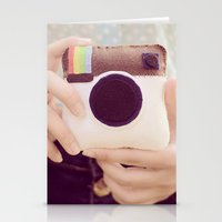 instagram Stationery Cards featuring Instagram  by Mandy_faith