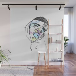 Rapper-a-day project | Day 3: Biggie Wall Mural