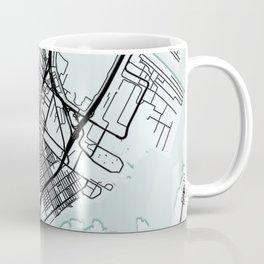 Elizabeth, NJ, USA, City Map Coffee Mug