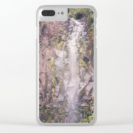 Waterfall on Road to Hana Clear iPhone Case