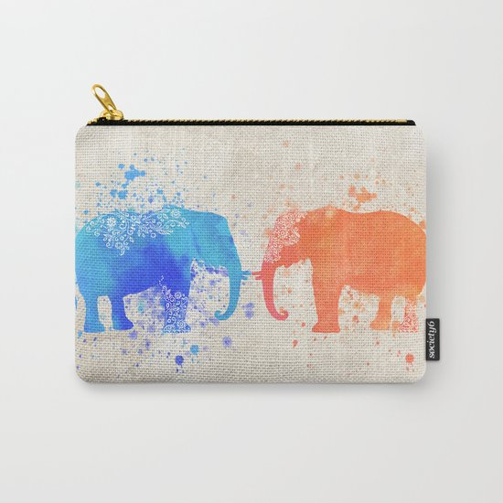 love elephants Carry-All Pouch