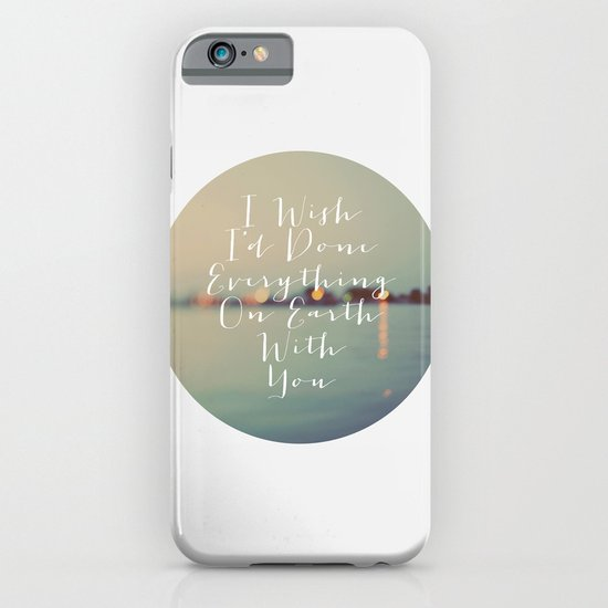 Everything On Earth iPhone & iPod Case