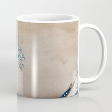 Under the Great Wave by Hokusai Mug