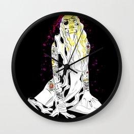 GIRL RULES Wall Clock