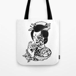 Geisha004 Tote Bag