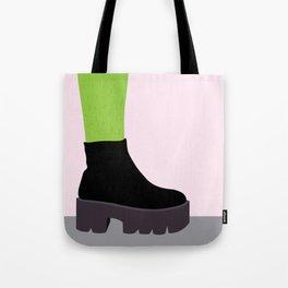 Cactus Leg Tote Bag