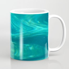 Below the surface - underwater picture - Water design Coffee Mug